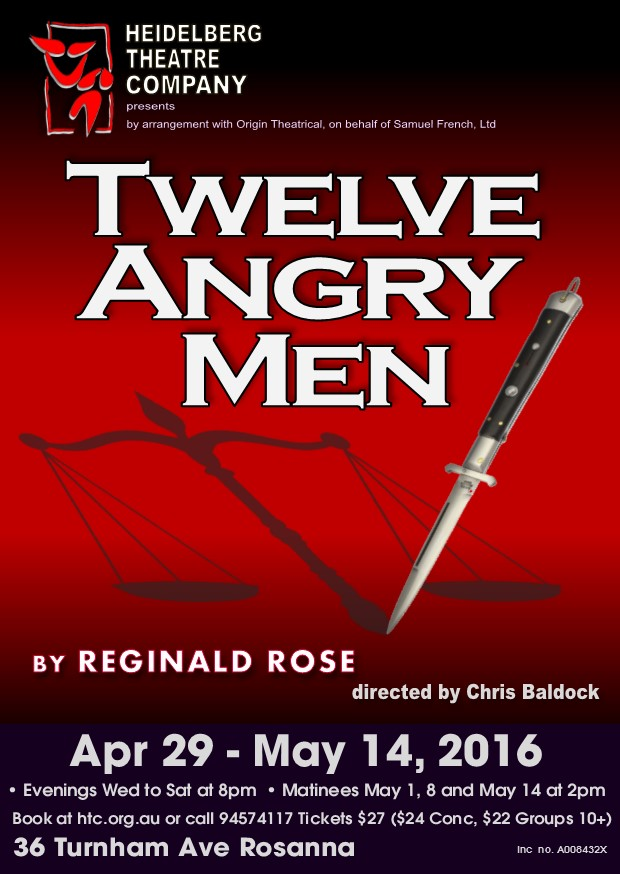 12 angry men by reginald rose Amazoncom: reginald rose's twelve angry men: a play in three acts (9790817293214): reginald rose, sherman l sergel, reginald rose: books.
