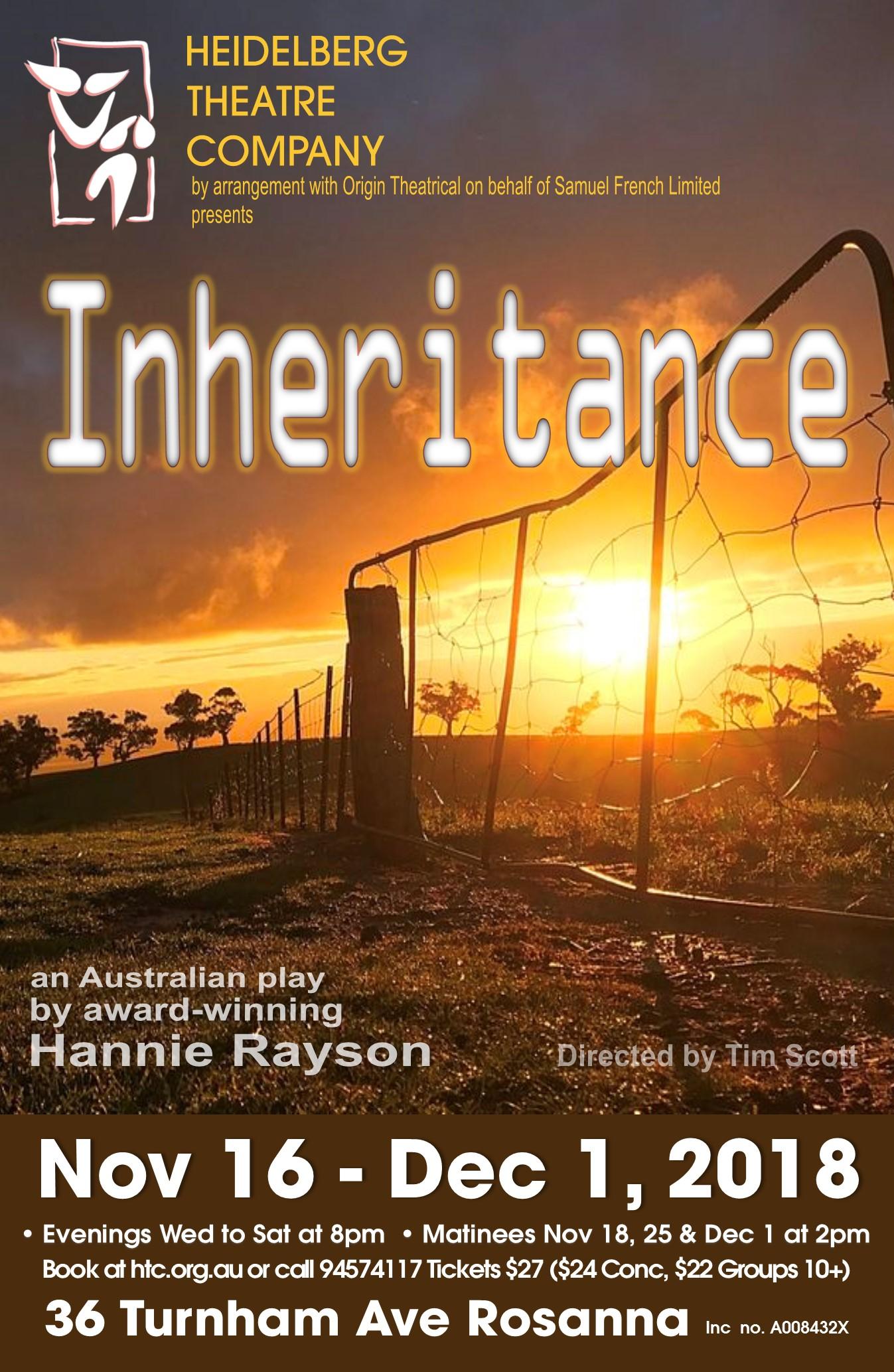 inheritance hannie rayson